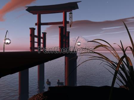 puerta japonesa