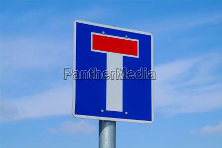 senyal conducir azul ir estrategia detalle