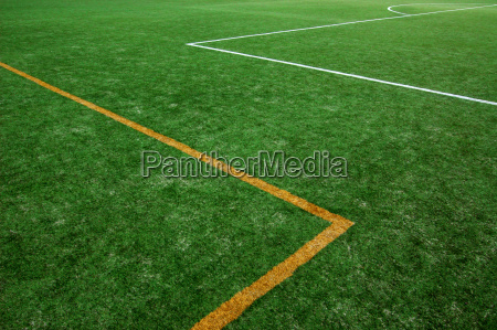 verde campo abstracto naranja campo de