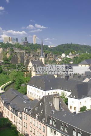 la ciudad de luxemburgo
