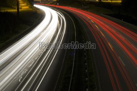 noche carretera