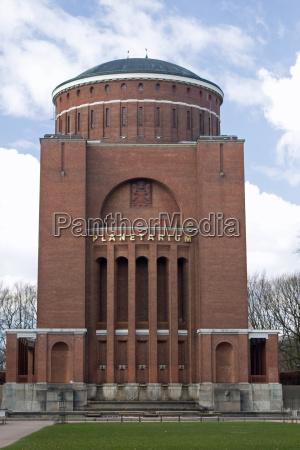hamburgo torre de agua planetario cinema