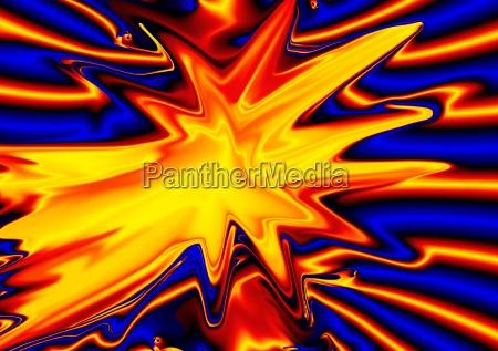 luz dinamica dinamismo fuego poderoso abstracto