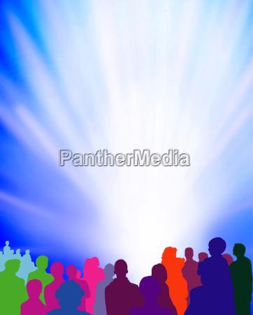 espectador evento ligtshow grafico