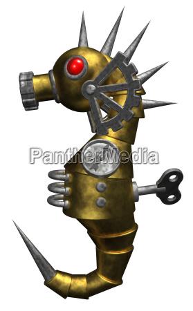 aparato de hierro metal mecanicamente automata