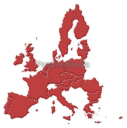 mapa de la union europea