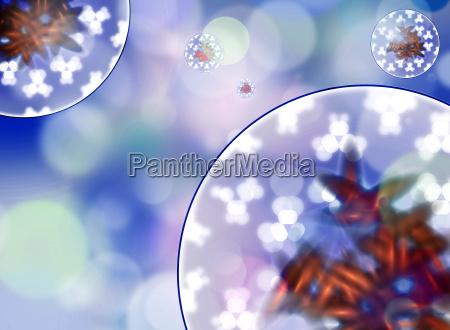 celula virus los germenes germen nano