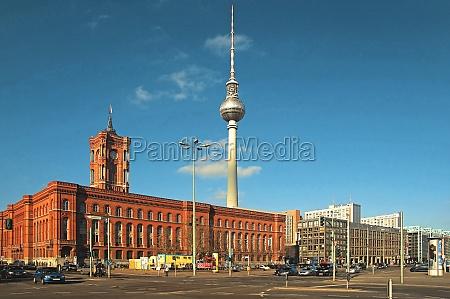 rotes rathaus deutschland berlin