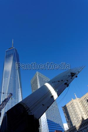 azul torre cidade moderno turismo eua
