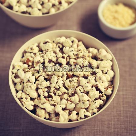popcorn with cheese garlic and oregano