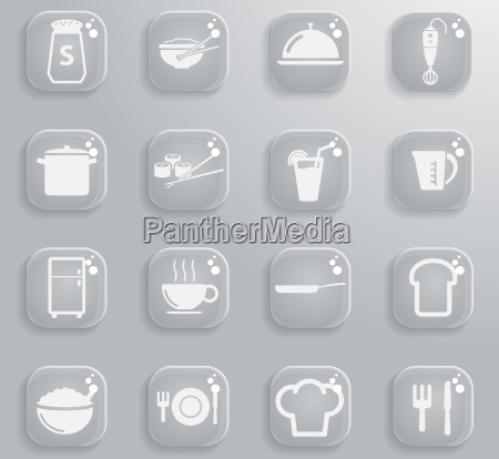 food and kitchen simply icons