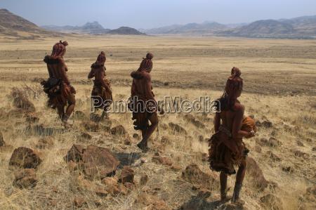 mujer acuerdo femenino desierto africa namibia